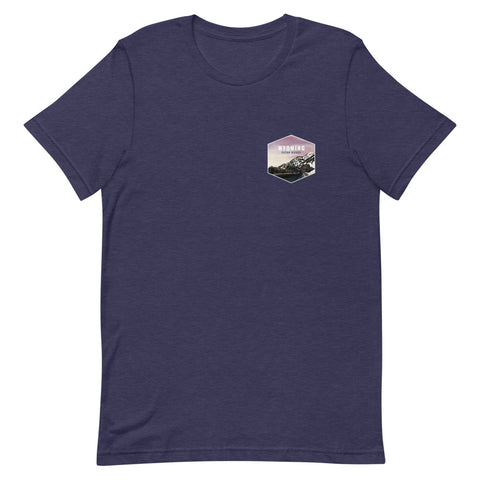 Wyoming (Front+ Back) Eco-Friendly T-Shirt