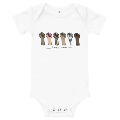 Rise Up (Eco-Friendly) Baby Onesie