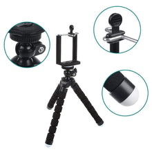 "Load image into Gallery viewer, Live Tripods - ""Bender"" Premium Flexible Portable Tripod With Wireless Remote"