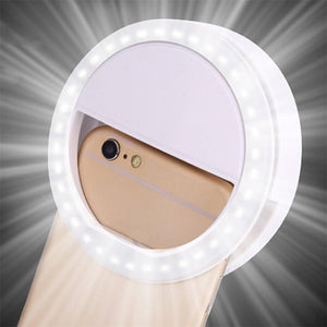 Photographic Lighting - Lumiere Clip-on Selfie Ring Light