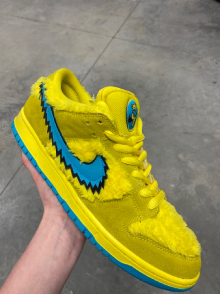 Nike Dunk SB Grateful Dead Optic Yellow