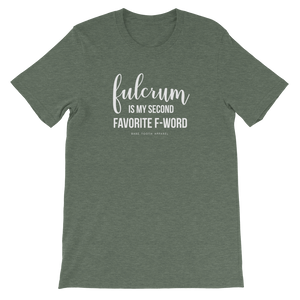 Fulcrum Is My Second Favorite F-Word
