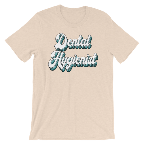 Retro Dental Hygienist Tee