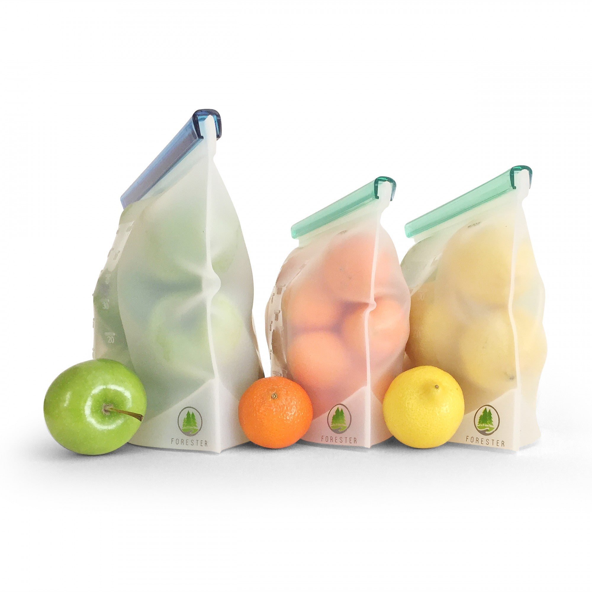 reusable silicone bag fruit storage
