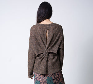 Laurel Twistback Sweater