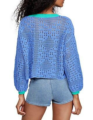 Free People Home Run Sweater (blue)