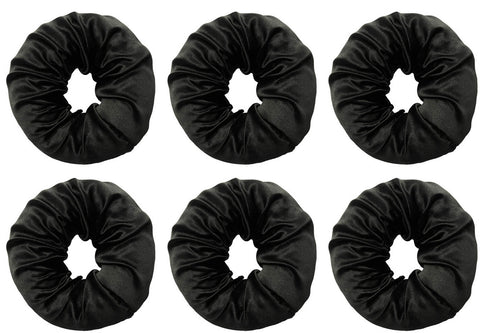 6 Satin Hair Bun Bundle