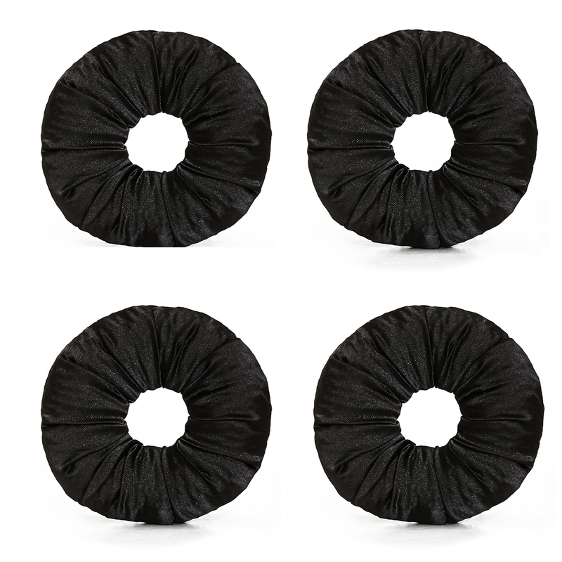 4 Satin Hair Bun Bundle