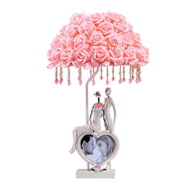 Beautiful Rose Lovers Fashion Lamp - Origami Nerd Depot
