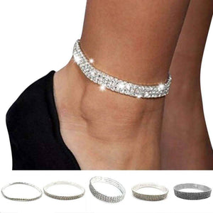 Origami Jeweled Fashion Anklet - Origami Nerd Depot