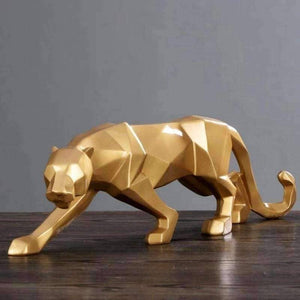 Origami Sly Panther Geometric Sculpture - Origami Nerd Depot