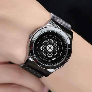 Origami Nerd Turntable Dial Fashion Watch - Origami Nerd Depot