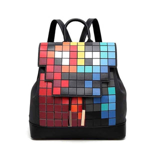 "Origami Magic ""Rubix"" Cube Fashion Backpack - Origami Nerd Depot"