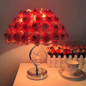 Beautiful Origami Rose Fashion Lamp - Origami Nerd Depot