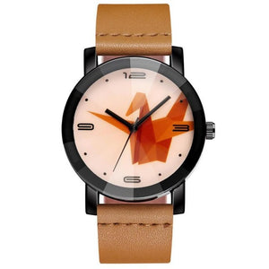 Origami Men's Casual Crane Watch - Origami Nerd Depot