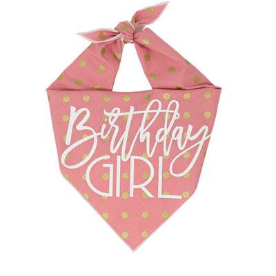 Birthday Girl Dog Birthday | Birthday Dog Bandana