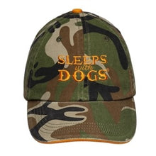 Load image into Gallery viewer, Sleeps with Dogs Hat