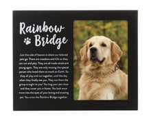 Load image into Gallery viewer, Rainbow Bridge Pet Memorial Frame