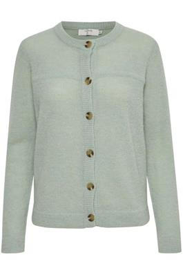 Mint Green Knitted Cardigan