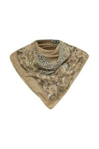 Mixed Leopard Print Scarf