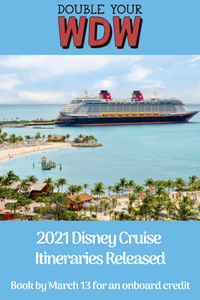 Summer 2021 Disney Cruise Available February 28, 2020
