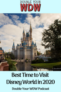 Best Times to Visit Disney World in 2020: Double Your WDW Podcast