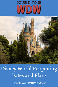 Disney World Reopening in July (Official Procedures for the Parks): Double Your WDW Podcast