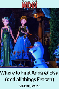 Where to Find Frozen at Disney World