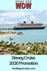 Disney Cruise Promotion Offer