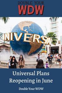 Universal Opening June 1 in New Proposal