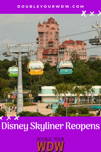 Disney Skyliner Reopens With Limited Hours