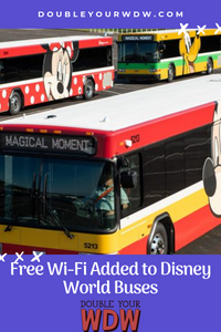Free WI-FI added to Disney Buses