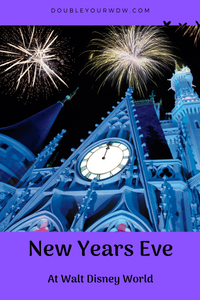 New Years Eve at Disney World: Ring in 2020