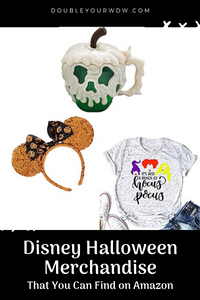 Disney Halloween Items on Amazon