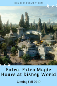 Extra, Extra Magic Hours Announced for Star Wars: Galaxy's Edge