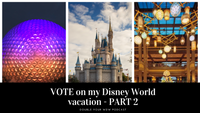 VOTE on Our Next Disney World Trip Part 2: Double Your WDW Podcast