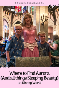 Where to Find Aurora and All Things Sleeping Beauty at Disney World
