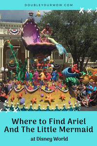 Where to Find The Little Mermaid at Disney World