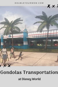 Disney World's New Gondola Transportation