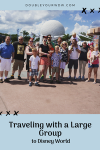 Traveling to Disney World with a Large Group
