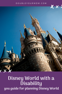 Planning Disney World with a Disability