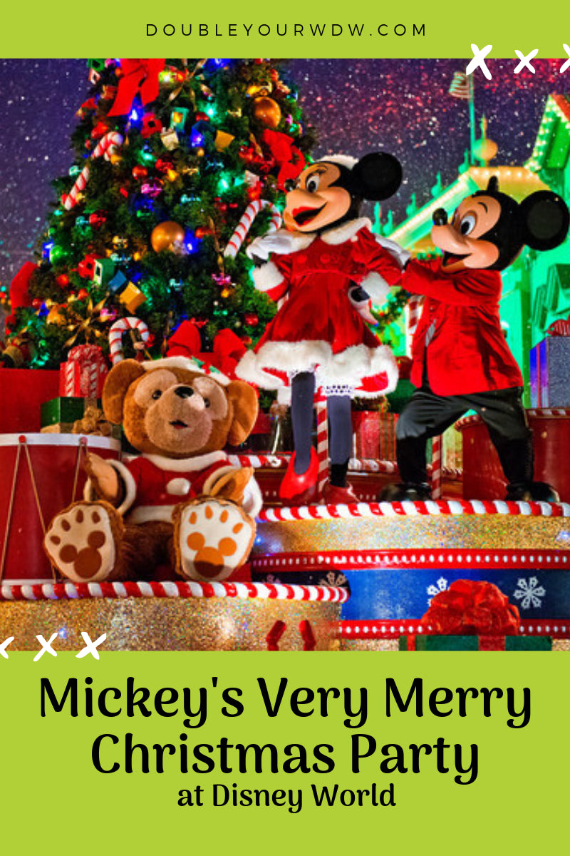 Mickeys Very Merry Christmas Party.Y Merry Christmas Party Double Your Wdw Mickey 39 S Ver