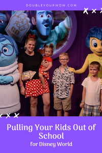 Should I Pull My Kids Out of School to go to Disney World?