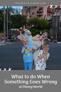 What to do When Something Goes Wrong at Disney World