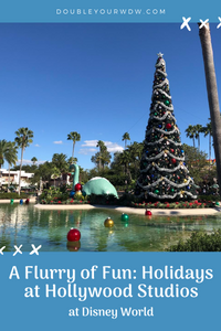 A Flurry of Fun: Christmas at Hollywood Studios
