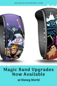 New Magic Band Upgrades Now Available