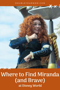 Where to Find Merida and Brave at Disney World
