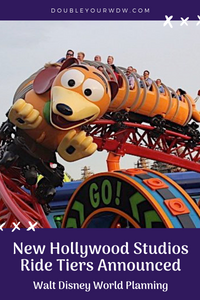 Hollywood Studios Changing Ride Tier System
