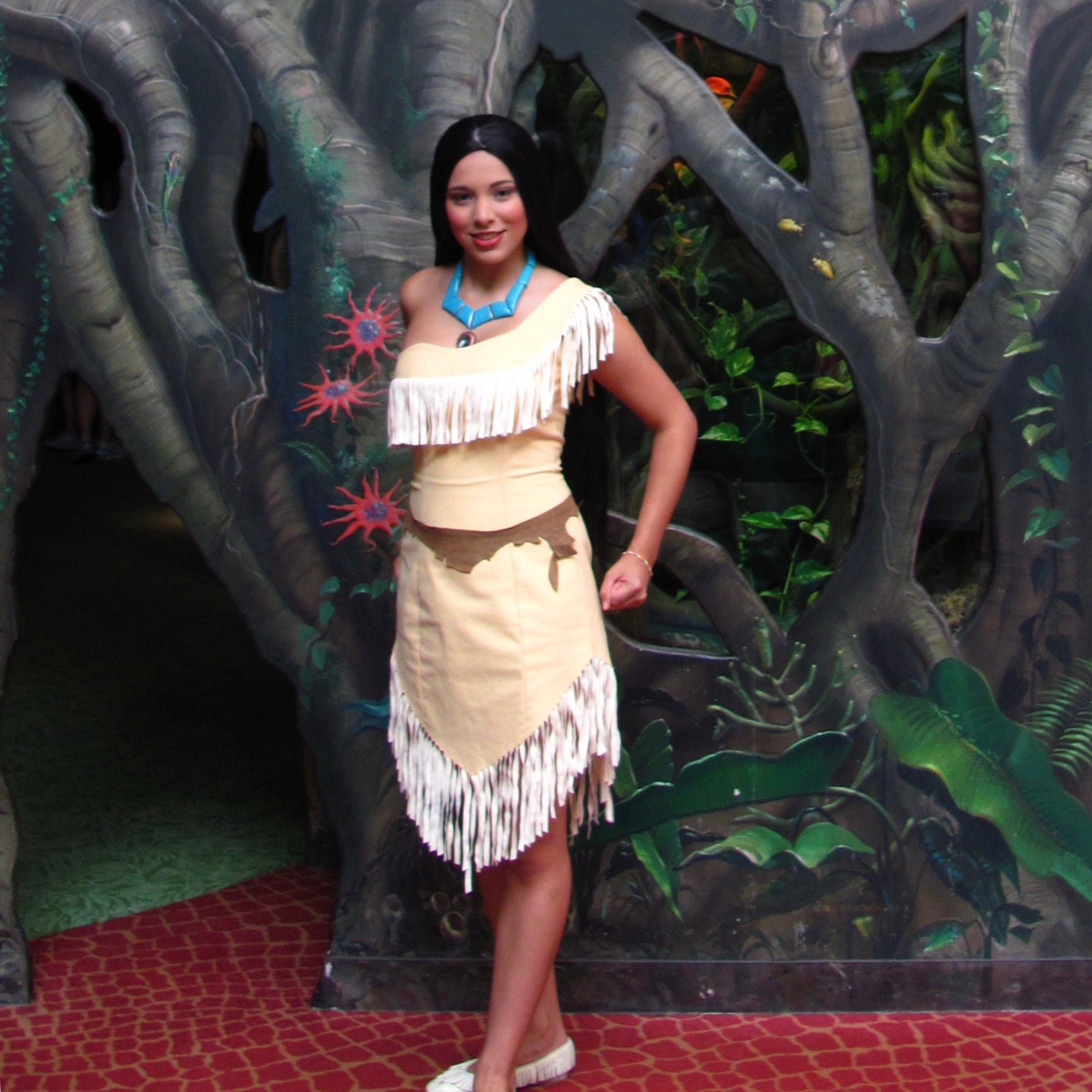 pocahontas at Animal Kingdom