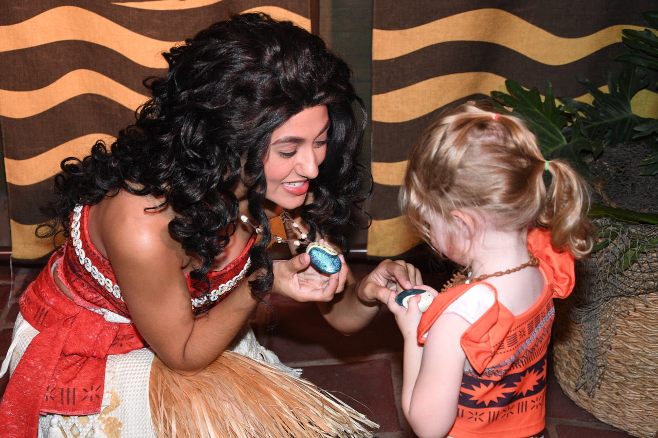 Moana meet and greet